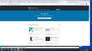Wordpress Plugin Search for processes